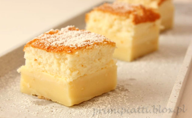 Magiczne ciasto – magic custard cake