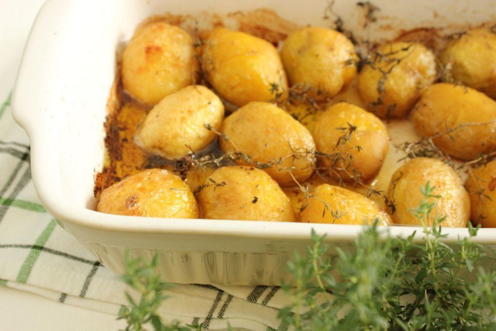 ziemniaki z tymiankiem