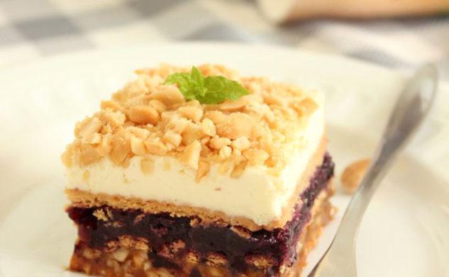 Słodko – słone ciasto z Almette
