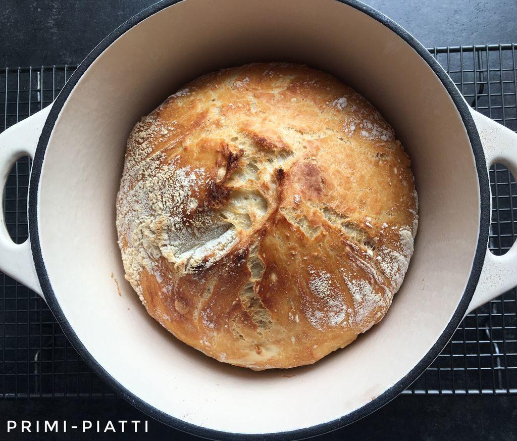 chleb w garnku