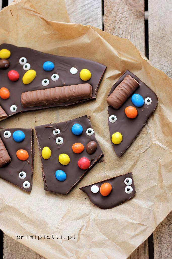 czekolada na halloween