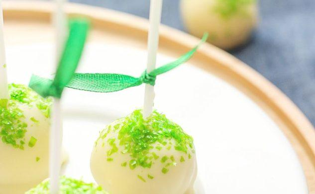 Wiosenne cake popsy