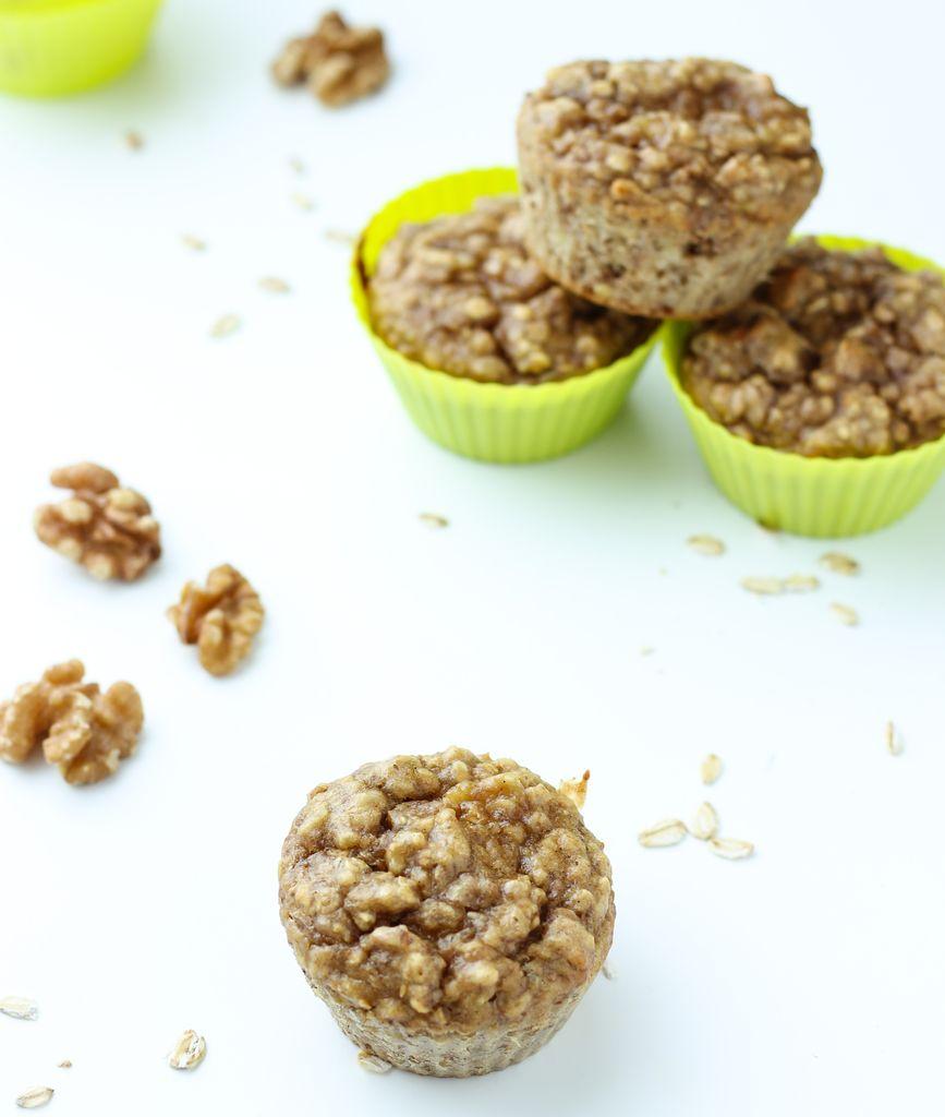 Zdrowe muffiny z masłem orzechowym