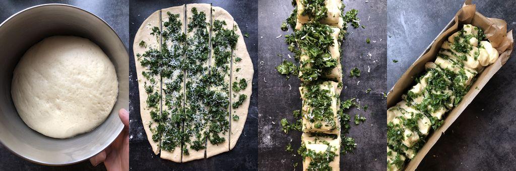 chlebek ziołowy krok po kroku