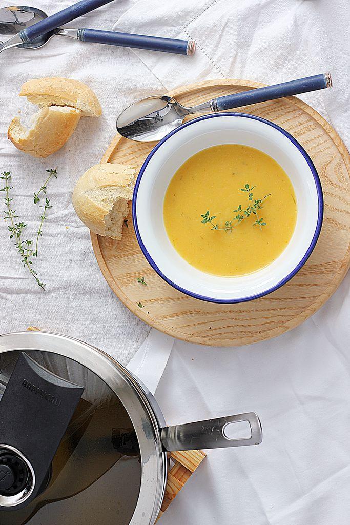 Błyskawiczna, rozgrzewająca zupa krem z cukinii